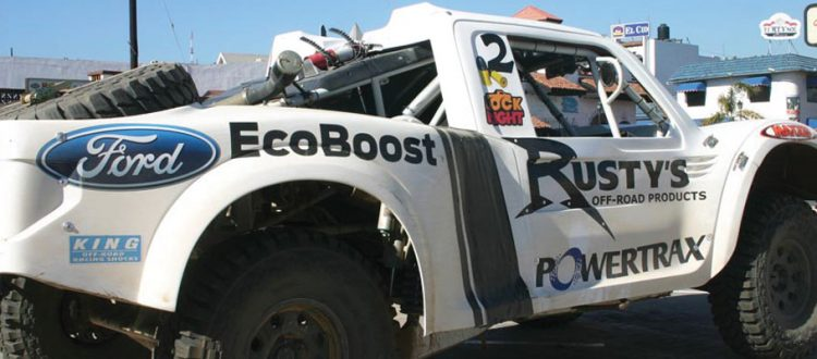 Rusty's and Powertrax Hit the Baja 1000
